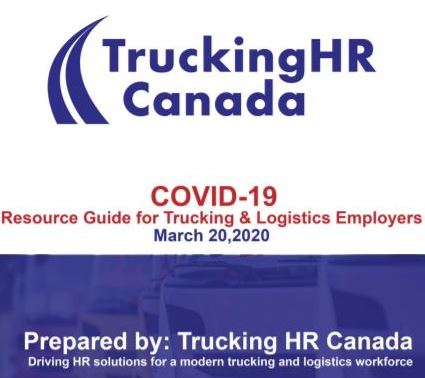 COVID-19 guide from TruckingHR Canada